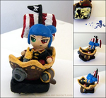 MS: Corsair Stamp Figurine by yingmakes