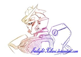 Gundam design commision by Twilight-Hikari