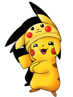 Pika-hat Pikachu by RejectoftheRifts