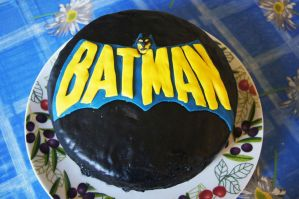 Batman birthday cake by dimebagsdarrell