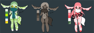 Hunni Adopts 1 :open: by BiisuMonster