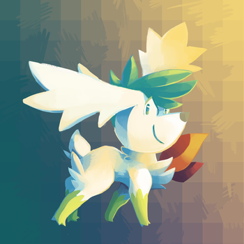 Day 5 | Shaymin by Nifty-senpai