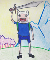 Finn the human by Sonny-Daze