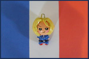 Chibi-Charms: APH France by MandyPandaa