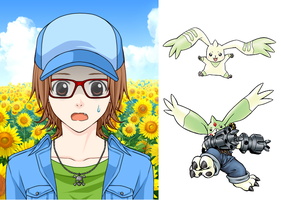 Digimon Me 2 by dottypurrs