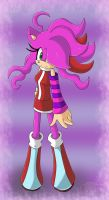 Art Trade: Neon The Hedgehog by Flame-of-Icarus