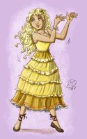 Luna_sunflower dress by roby-boh