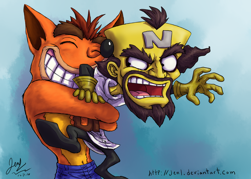 Welcome Back Crash Bandicoot by JenL
