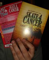 Skate4Cancer cards by littleemmy
