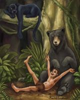 The Jungle Book by Rinithil
