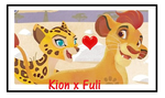 Kion X Fuli Stamp by CatDasher