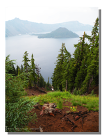 Foggy Morning at Crater Lake by WillFactorMedia