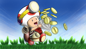 Captain Toad Goes Forth.......isn't quite done yet by Smash45