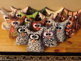 Owl Family by Jens-Closet