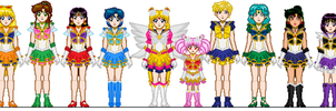 SeraMyu Sailor Team by Toshi-san