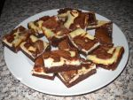 Cream Cheese Chocolate Brownies by Bisected8
