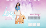 Lucy Hale Header. by cityofmagic