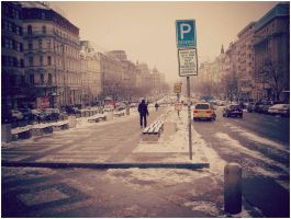 Wenceslas Square, Prague by SeiMissTake