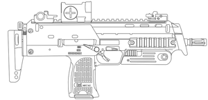 MP7A1 by cashel111