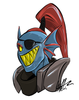 Undyne by KaleiC