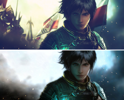 the Last Remnant signature by ghost4luck