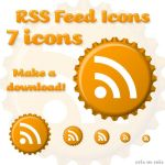 RSS Feed Icons by kaitou-arashi