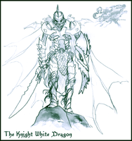 The Knight White Dragon by Zaigard