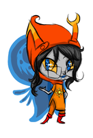 Vriska Chibi +Commission+ by spectralVisionary