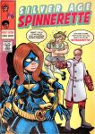 Silver Age Spinnerette cover! by KrazyKrow