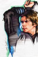Anakin Skywalker by cklum