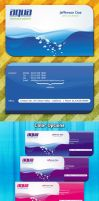 Aqua Creative Business Card -PSD- by squizmo