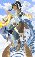 Furry Avatar Korra by Fuzzycoma