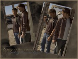 Sam and Dean - As long as Im around by the-impalas-backseat
