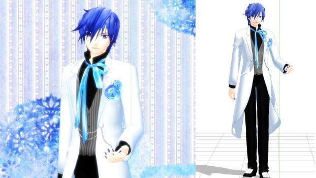 KAITO's new Costume by hzeo