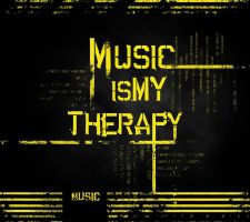 Music is my Therapy by kalianalyticaldevine