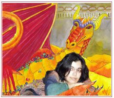 Smaug and me by dragonladych