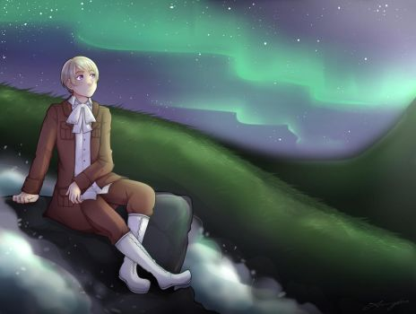 [APH] Iceland - Night Sky by Annington