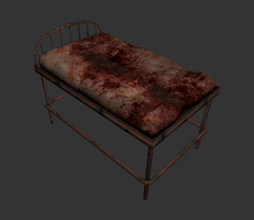 Cama de tortura - Bed of torture by LucianoMolloDesigns
