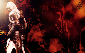 Bloody Altair Wall by manolitox