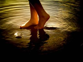 Walk on water by HellinS