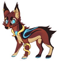 .: Egyptian Canine AUCTION CLOSED :. by Spunky-Mutt