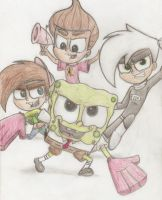 United...we are NICKTOONS by Nicktoonacle