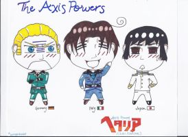 The Axis Powers by Sa-ChanCentral