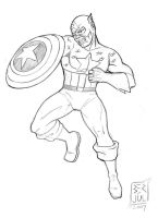 Captain America by RagaLangit