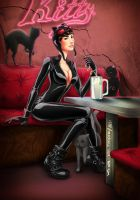 CATWOMAN by LOTTECHAR