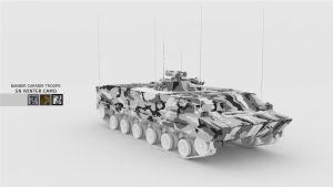 SN Winter Skins Banner Carrier Troops Camo by Binary-Map