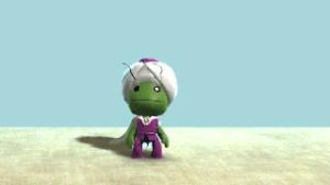 piccolo sackboy by Jump-Button