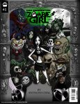 Zombie Girl Issue 01-Cover by Gummibearboy