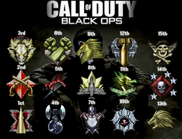 Black ops Prestige Emblems by GimpCraft