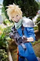 Cloud Strife from Final Fantasy VII Crisis Core by Akira0617